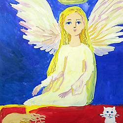 Краевая Выставка-конкурс детского рисунка «Крылья ангела»